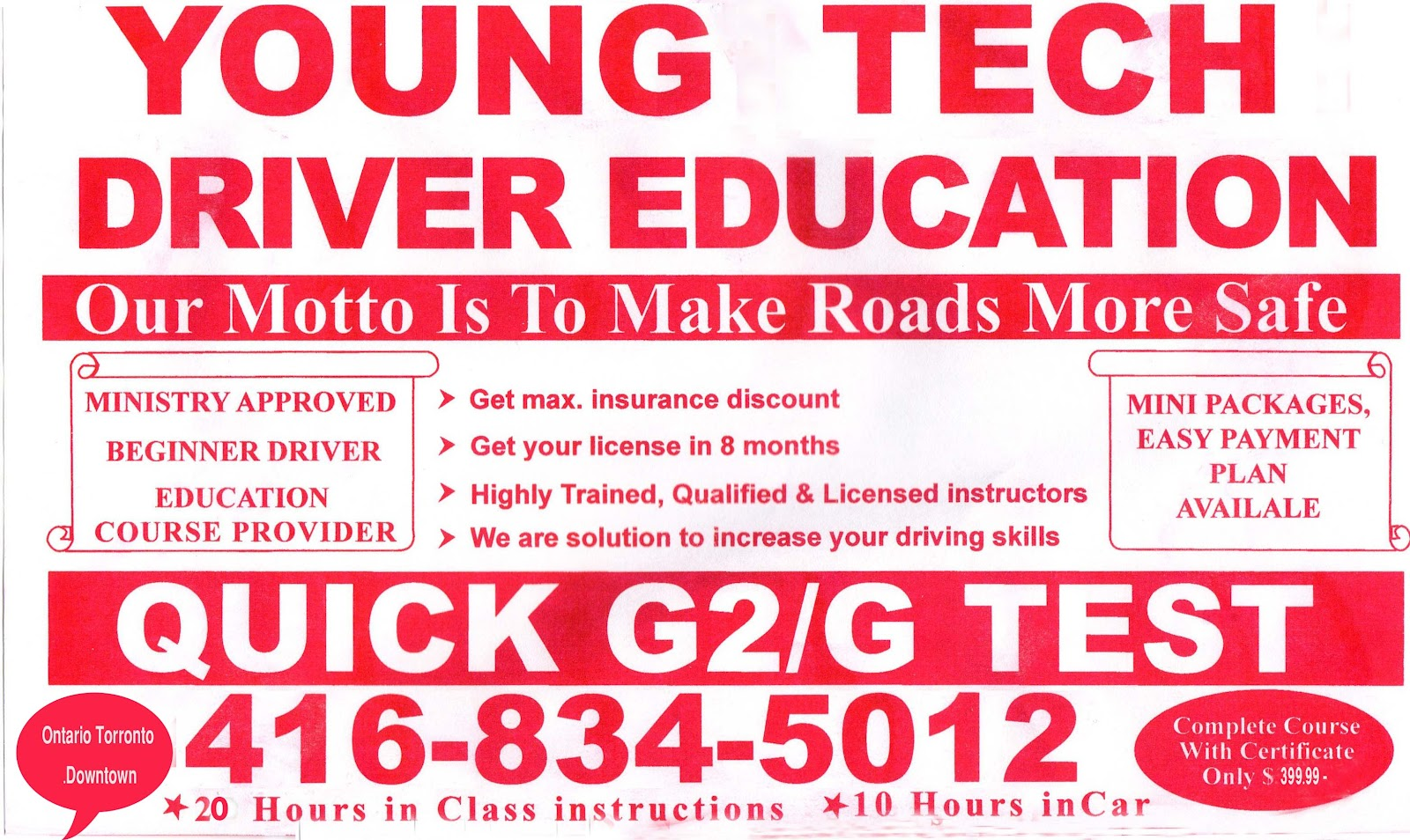 Notice To All Teen Drivers 38