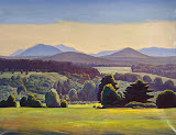 Asgaard by Rockwell Kent - Landscape Paintings from Hermitage Museum