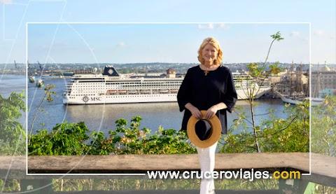 MSC Cruceros y Martha Stewart se unen para ofrecer al pasajero nuevas experiencias y propuestas culinarias únicas