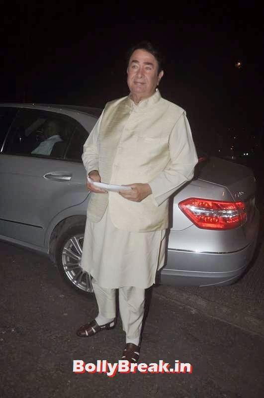 Randhir Kapoor,  Ekta Kapoor's Diwali Bash Photos