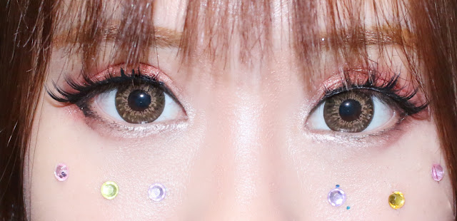 Dueba Gossip Brown contact lenses review