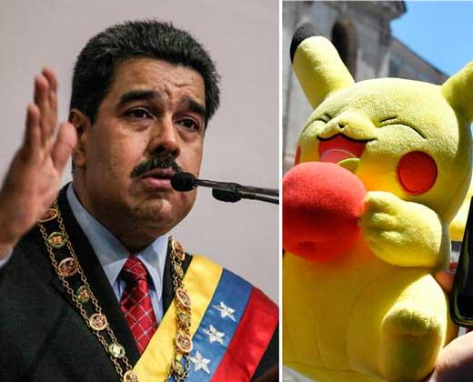 El comentario de Maduro sobre Pokémon Go