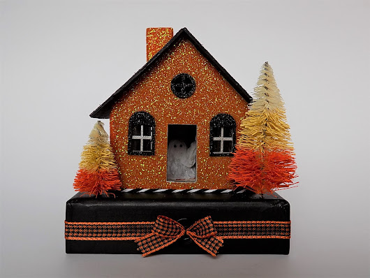 Ghost in a Glitter House and Halloween Blocks!