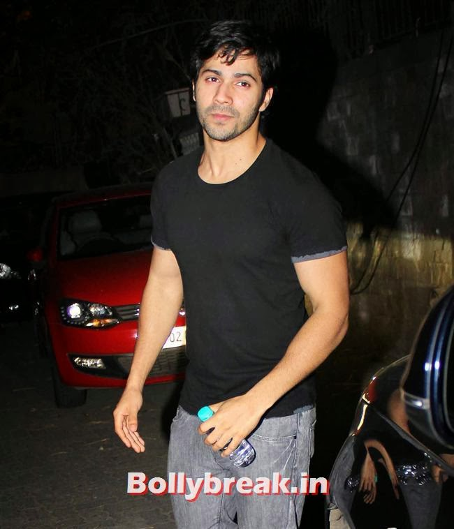 Varun Dhawan, Preeti Desai and Abhay Deol at One By Two Special Screening