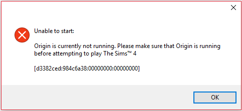 10 Langkah untuk mengatasi Unable to start: Origin is Currently not Running pada The sims 4