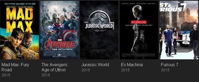 Film Terbaik Tahun 2015