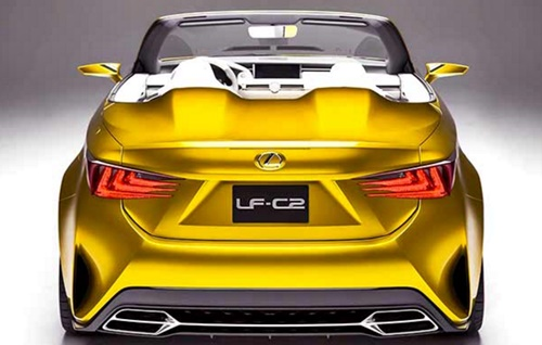 New Lexus LF C2 Yellow Specs & Reviews