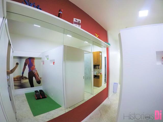 Espaço Postura Pilates - Área de alongamento
