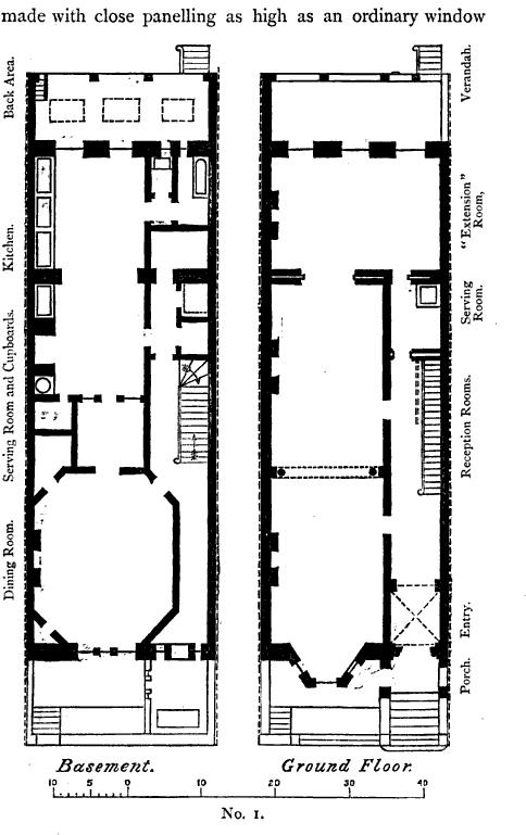 19th Century Historical Tidbits: American House Plans