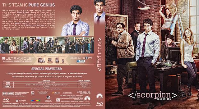 Scorpion Season 1 Bluray Cover
