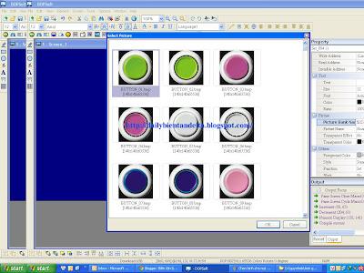 Hướng dẫn sử dụng lập trình chèn thư viện hình ảnh cho nút nhấn trên màn hình cảm ứng HMI Delta B07S411