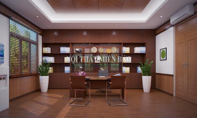 Tiêu chí thiết kế nội thất phòng giám đốc đẹp - H3