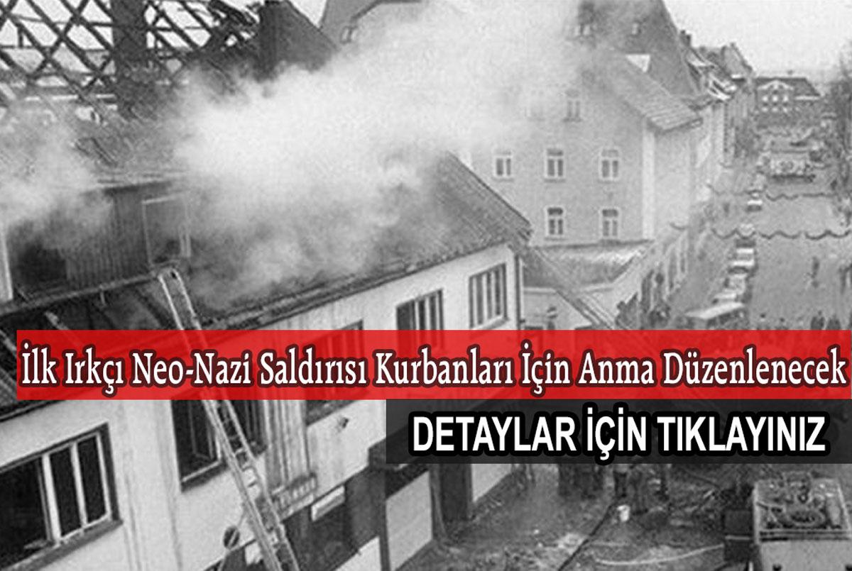 İlk Neonazi Kurbanı Türk Aile İçin Anma Töreni Düzenlenecek