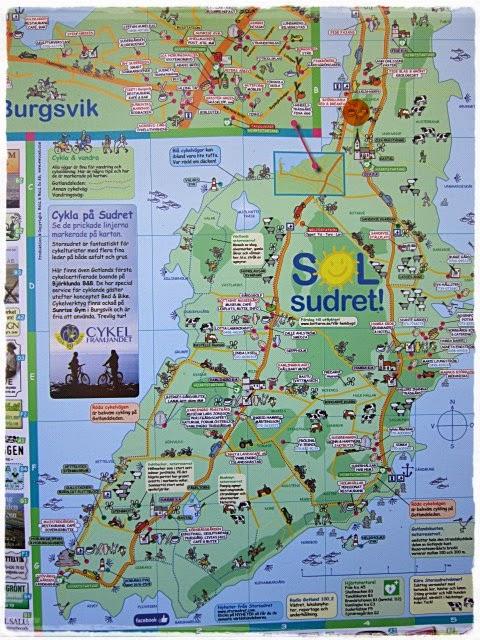 detaljerad karta gotland Evas Kvarnaro: Vårt första möte med Gotland . . . . detaljerad karta gotland