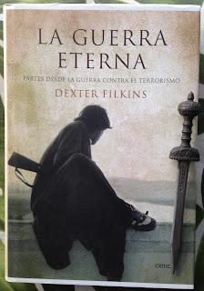 Portada del libro La guerra eterna, de Dexter Filkins