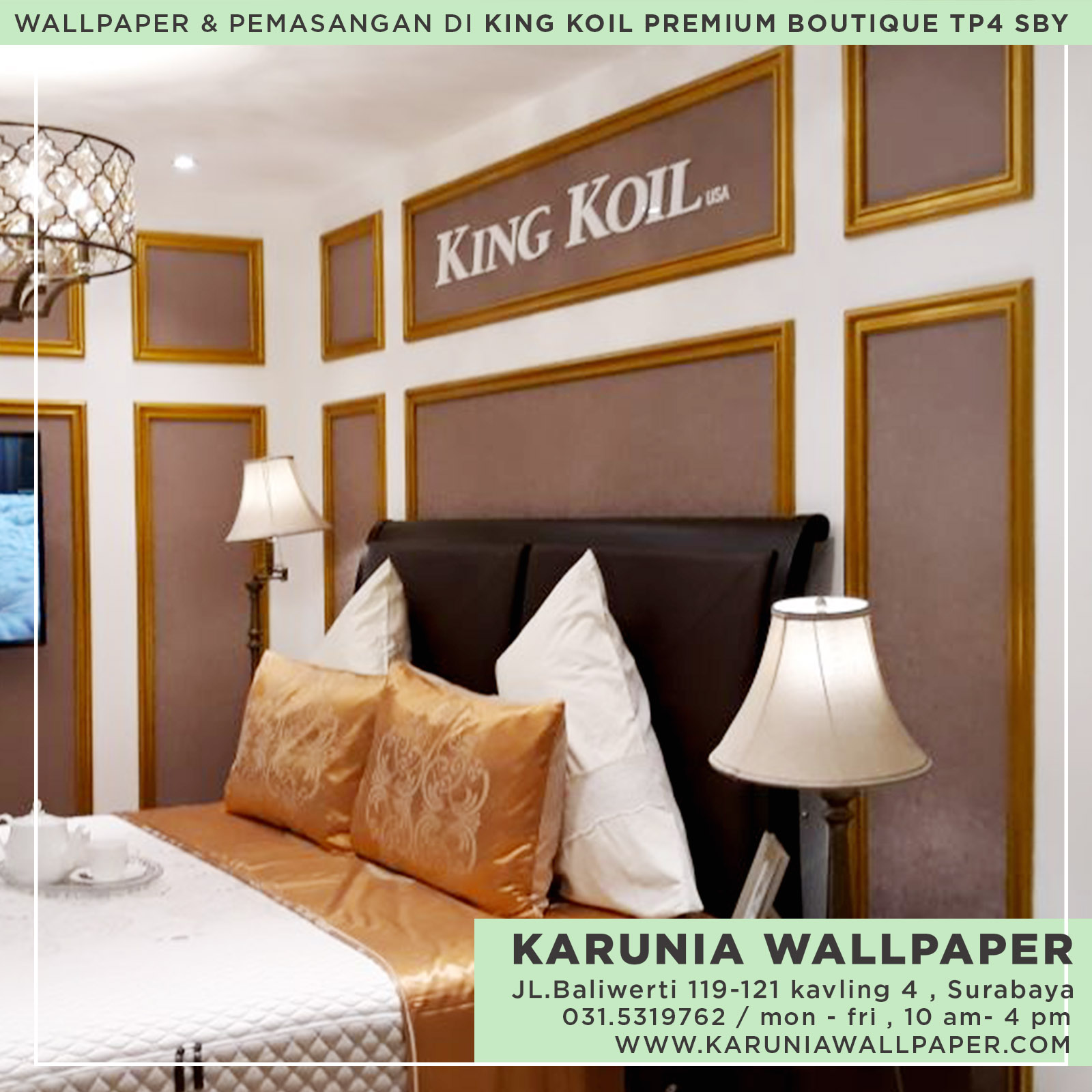 jasa pasang wallpaper dinding surabaya