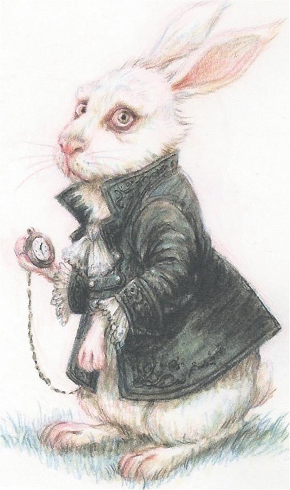La atalaya nocturna lunes de postal monday 39 s postcard conejo de alicia en el pa s de las - Conejo de alicia en el pais de las maravillas ...