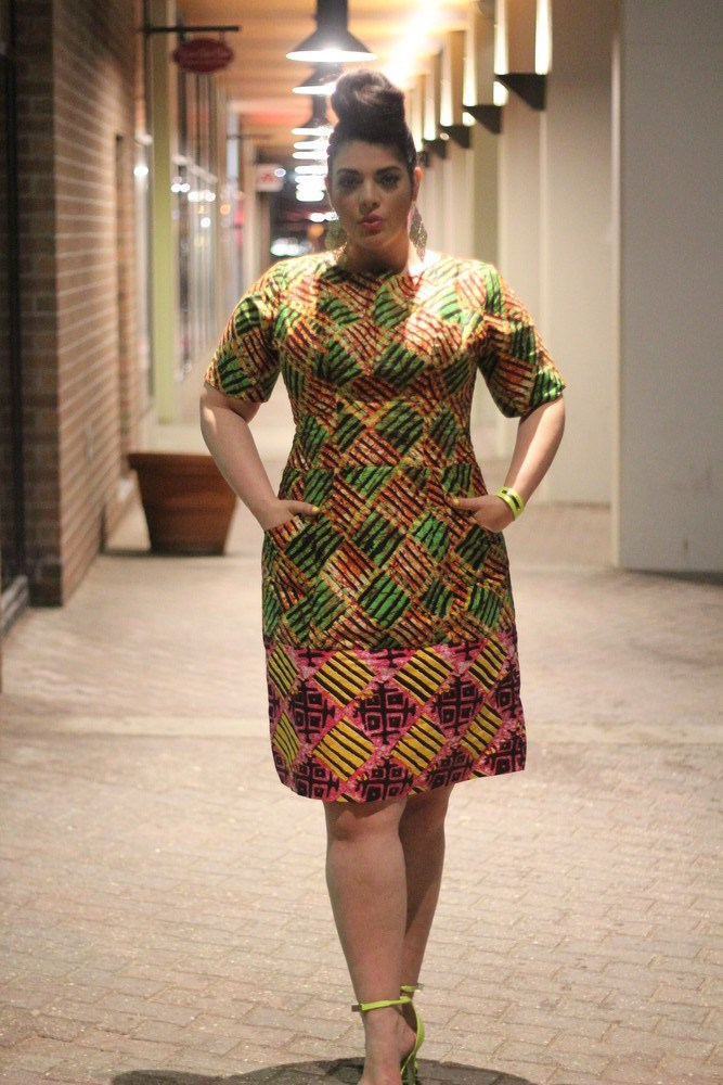Exotic Ankara Styles For Chubby Ladies