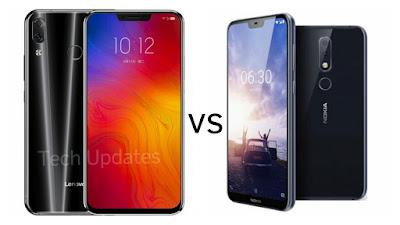 Lenovo Z5 vs Nokia X6