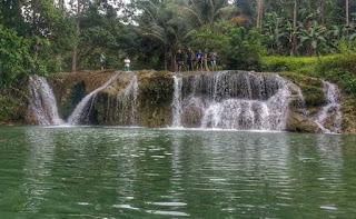 Most adventurous and best hidden waterfalls Niluksuan Balilihan bohol philippines 2018