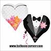 Balon Foil Wedding Couple Heart