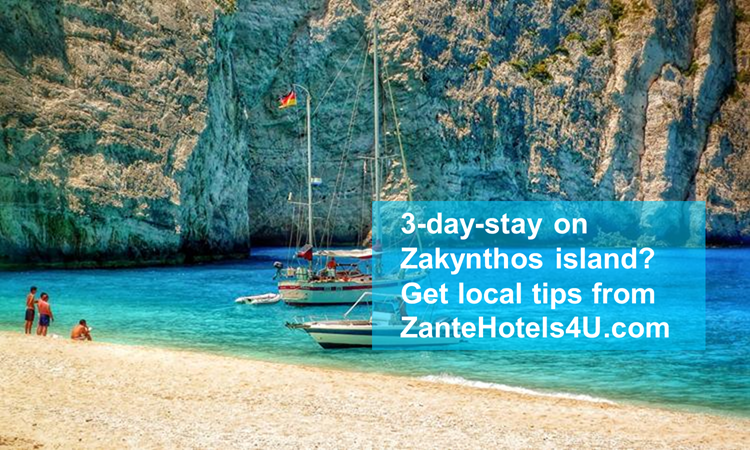 The best places to visit during a 3-day-stay on Zakynthos island from the locals!