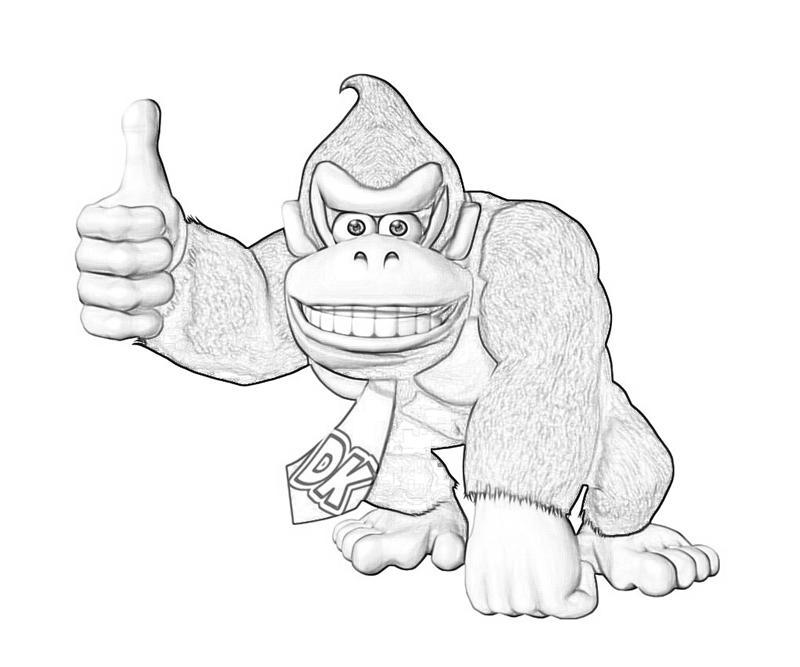 Donkey Kong Country Returns Donkey Kong Cute Mario