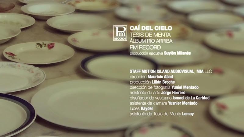 """Tesis de Menta - """"Caí del Cielo"""" - Videoclip - Dirección: Mauricio Abad. Portal Del Vídeo Clip Cubano - 10"""