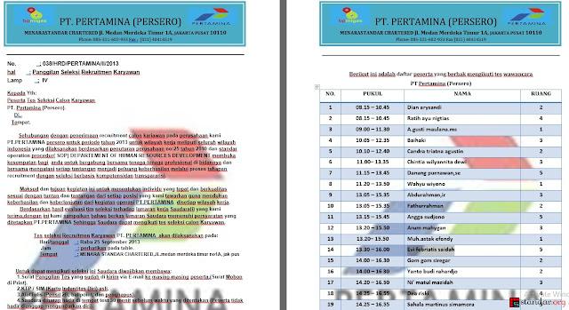 Waspada Aksi Penipuan Penerimaan Karyawan PT. Pertamina (Persero) - Trik Baru Penipu