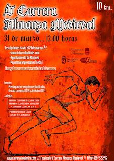 Carrera Popular Almanza Medieval 2019