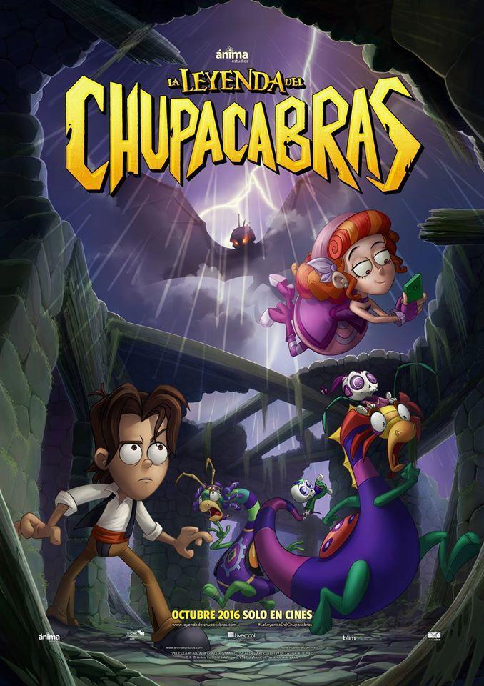 La leyenda del Chupacabras [2016] [DVDR] [NTSC] [Latino]