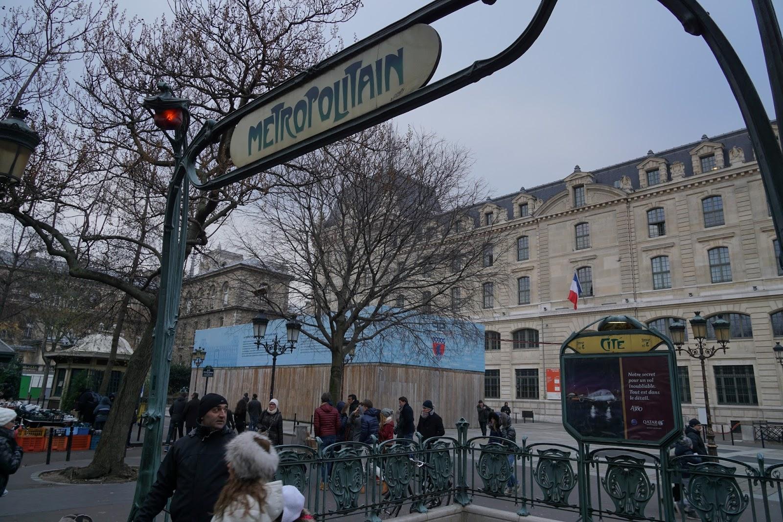 シテ駅(Cité)