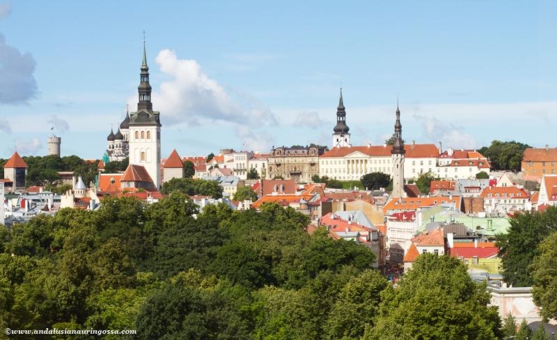 Tallinnan vanha kaupunki_Tallinn Old Town