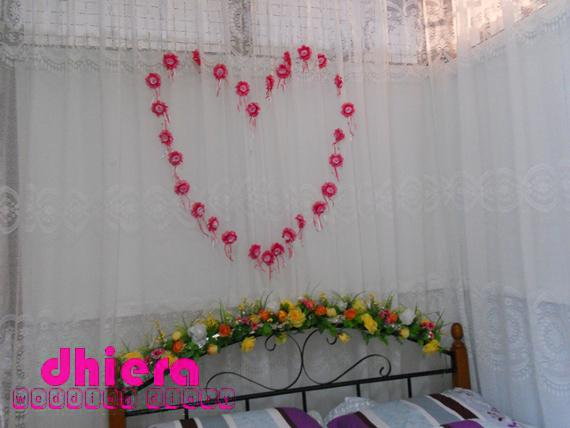 Diy Hiasan Bilik Tidur Pengantin Baru Simple Ciktom Real Wedding Hajar Amir Solemnization Diari Kahwin Dhiera