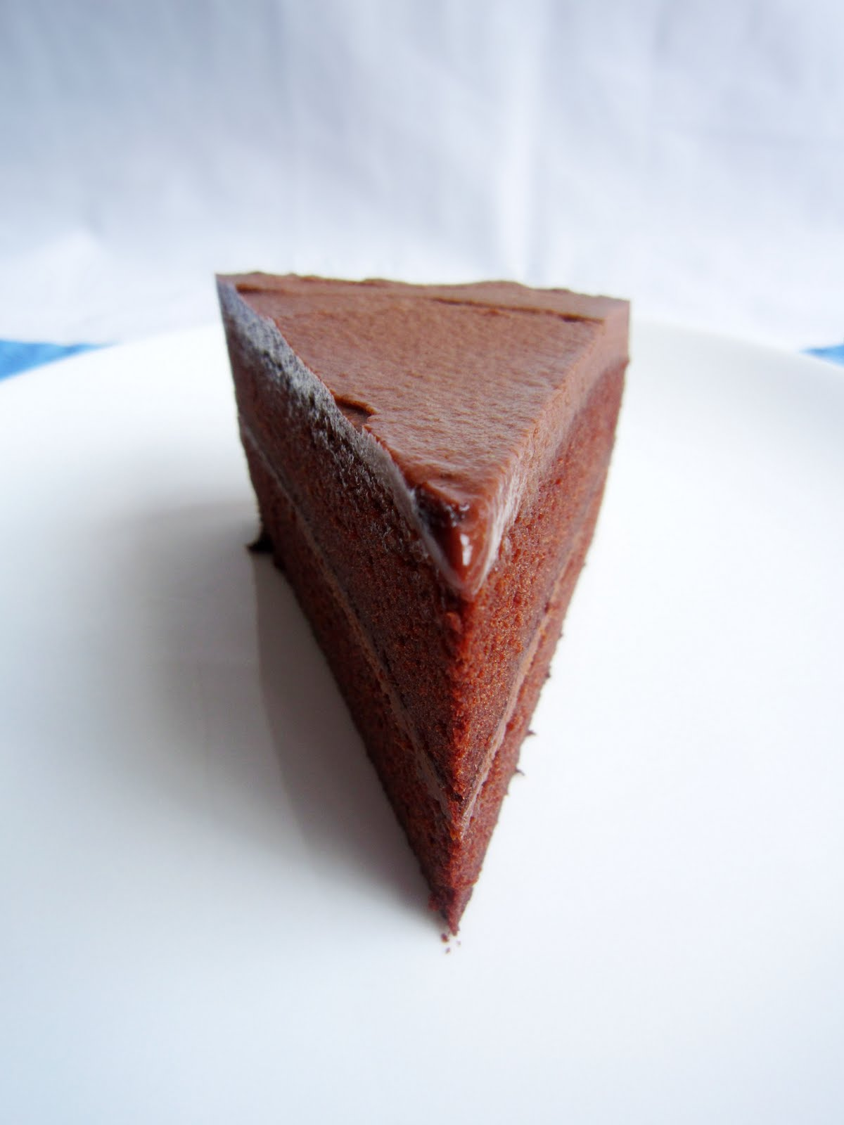 Noms I Must Chocolate Fudge Cake With Light Whipped Ganache