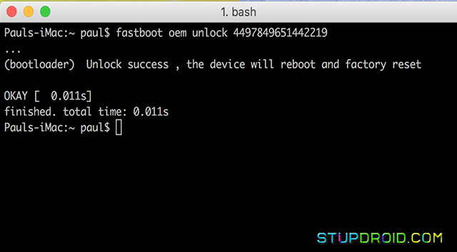 How to Unlock bootloader Asus Zenfone 4 Selfie [Z01M