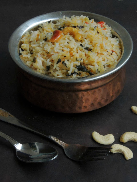 Andhra Mint Rice