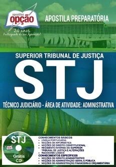 Apostila STJ 2018 Técnico Judiciário