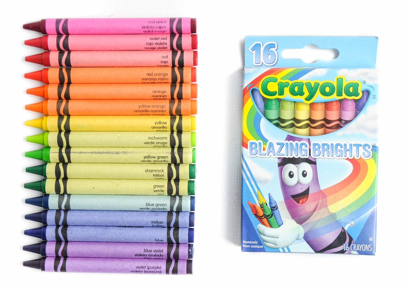 16 Count Tip Collection Crayola Crayons What S Inside The