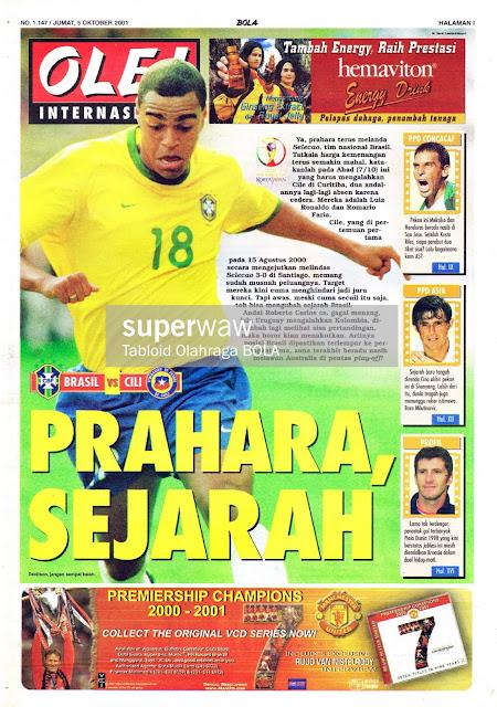 BRASIL VS CILI PRAHARA, SEJARAH