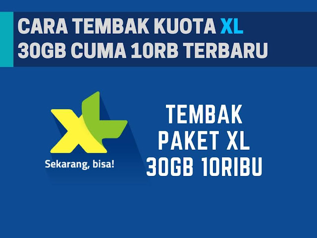 Sebagaimana yang kita ketahui saat ini XL lagi mengadakan promo paket internet gila Tutorial Tembak Paket XL 30+GB 10+RB Terbaru 2019