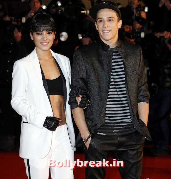 Alizee & Gregoire Lyonnet, International Singers at NRJ Music Awards 2013