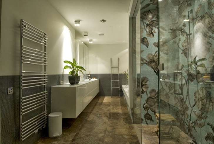 Bathroom in Modern home by Clijsters Architectuur Studio