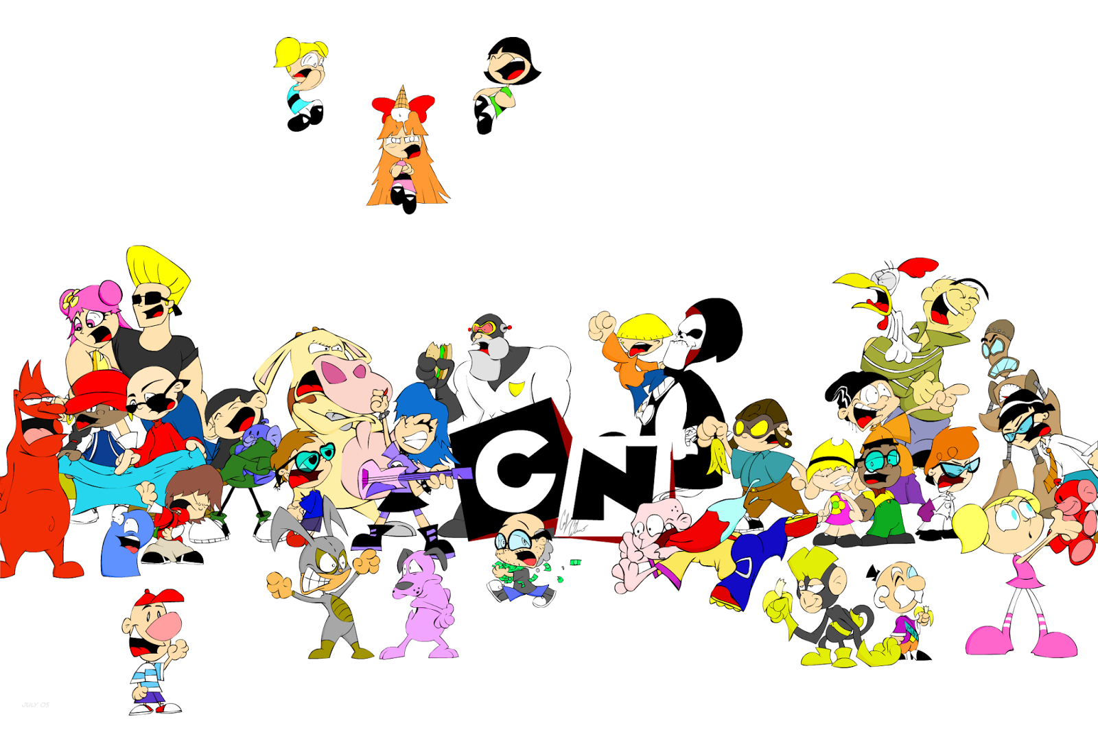 Cartoon Name: Cartoon Network Characters