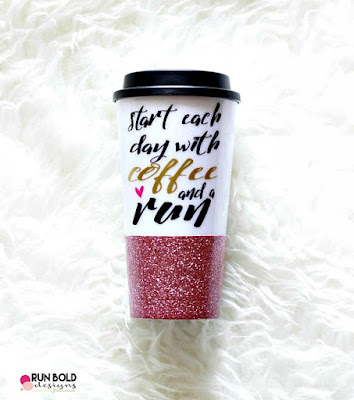 Click here to buy the Glitter Travel Running Mug for the perfect Mother's day gift!!