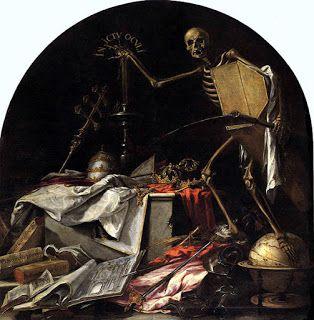La muerte en Semana Santa es representada en la pintura barroca española por Valdés Leal