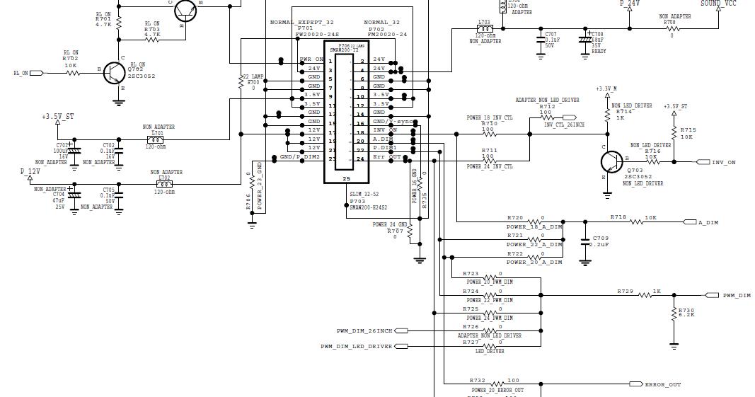 Memperbaiki Televisi LCD LG 32CS410 Mati dengan Led