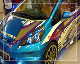 modifikasi honda jazz 2005