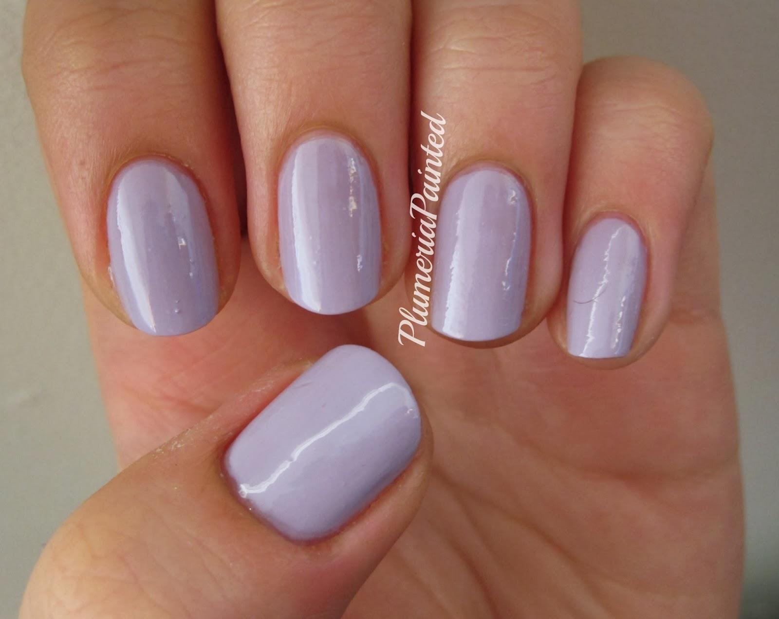 PlumeriaPainted: Purple Nails: Essie - Lilacism