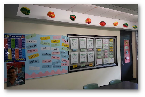 Bayside Math Teacher Classroom Organisation